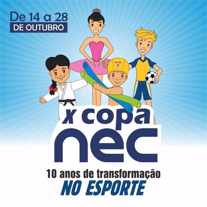 X Copa do NEC/Pinguinho de Gente incentiva prática esportiva