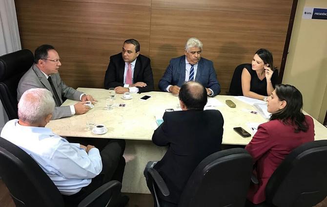 Líder do Prefeito na Câmara teve reunião com bancadas para definir votações do NatalPrev