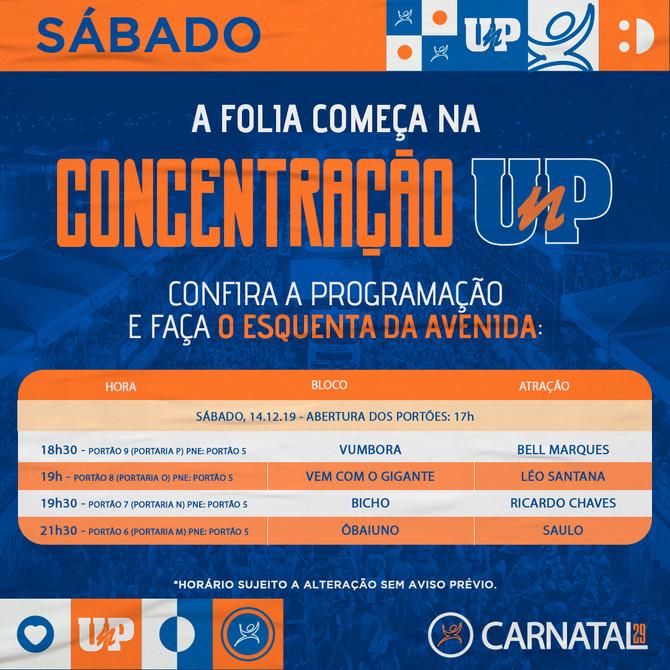 Sabadão de Carnatal tem a energia de Leo Santana, Bell, Ricardo Chaves e Saulo na avenida