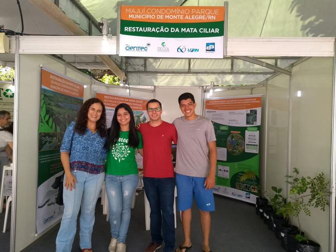 Pesquisa sobre reflorestamento no Majuí, em Monte Alegre, é destaque na Cientec 2018