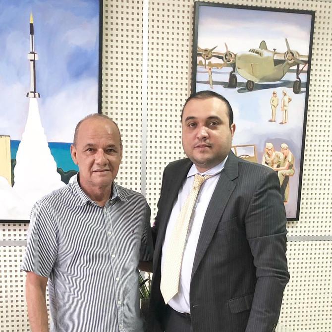 Vereador Ney Lopes Jr. participa de encontro com Prefeito de Parnamirim para debater a reedição da C