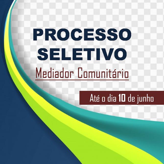 Prorrogada as pré-inscrições para o curso de mediador comunitário