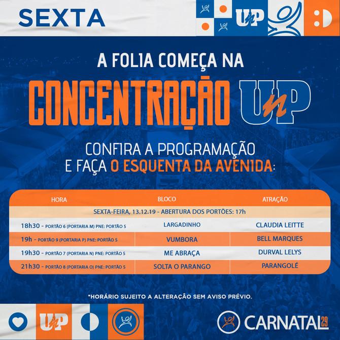 Sextou no Carnatal29 com Claudinha, Bell Marques, Durval e Parangolé