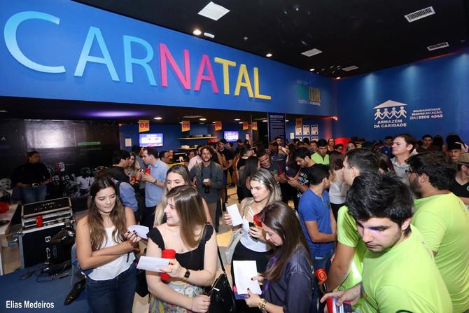Nova Central do Carnatal abre as portas em noite de baladinha e sorteios para foliões