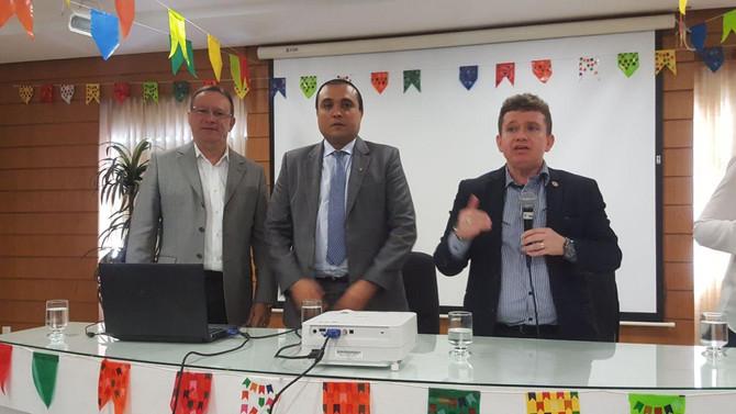"""Selecionados para atuar no projeto Mediação Comunitária participam de apresentação do curso """"Mediaçã"""