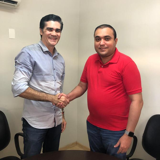 Vereador Ney Lopes Jr. participa de reunião com Presidente do Partido Trabalhista Brasileiro