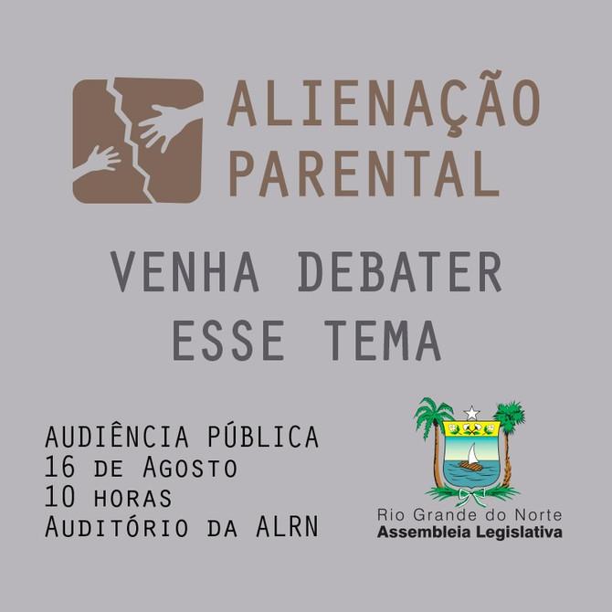 Alienação parental será tema de campanha educativa da Assembleia Legislativa