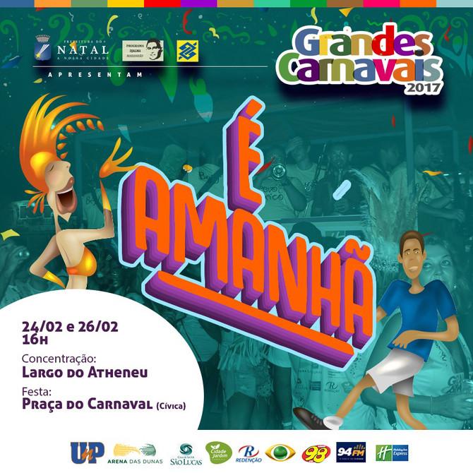 Começa a festa do Movimento Cultural Grandes Carnavais nesta sexta-feira (24)