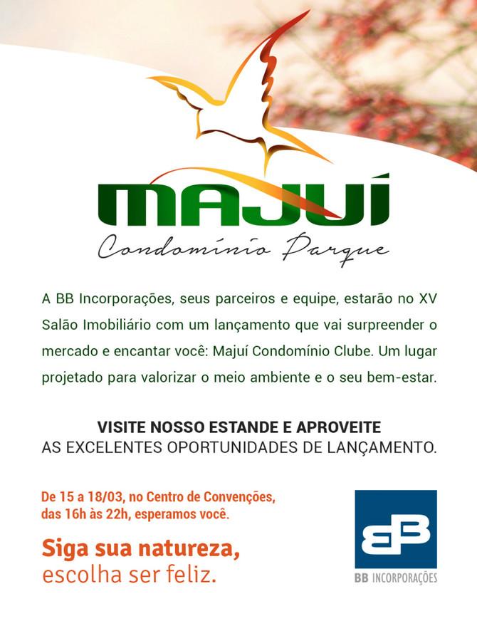 BB Incorporações apresenta Majuí Condomínio Parque no 15º Salão Imobiliário