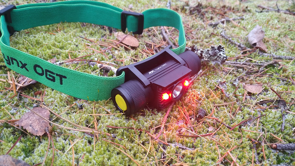 Alpenglow Red LED Headlamp
