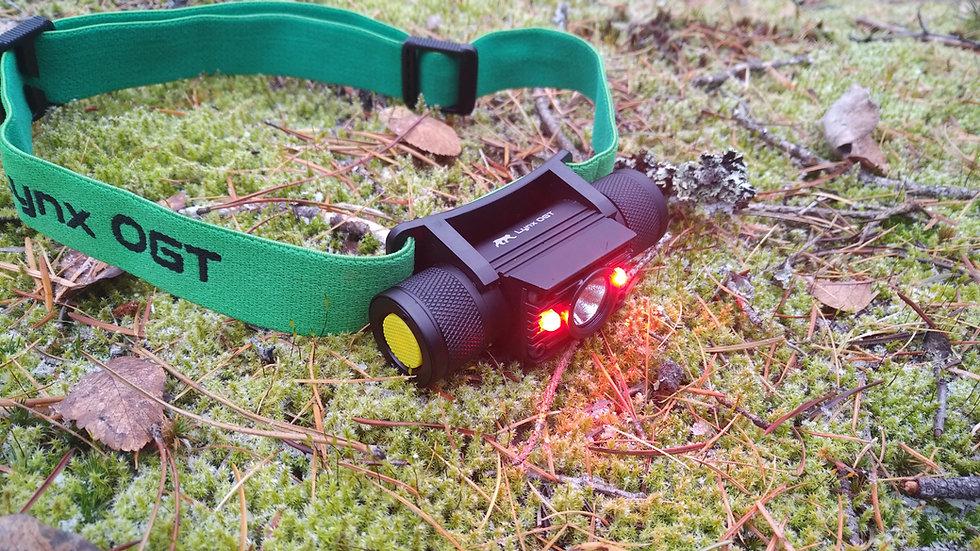 Alpenglow Red LED Headlamp