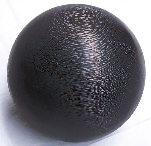 3D machined carbon sphere