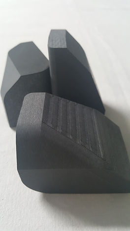 Bykolles racing 3D carbon machined impact part