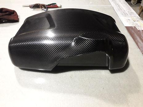 carbon dyneema fuel tank cover