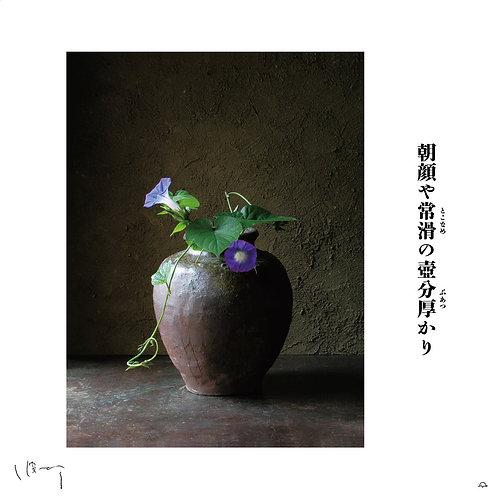 『9月(朝顔)』 味岡伸太郎