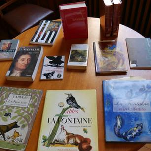 Fonds de la bibliothèque #5 Jean de la Fontaine, his 400th anniversary