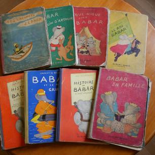 Fonds de la bibliothèque #4 Babar