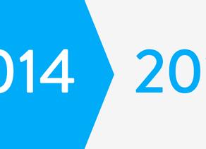 最近4年間のホームページの進化(2014〜2018)