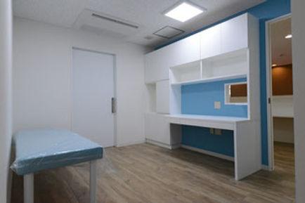 かわごえ小児科クリニック 診察室