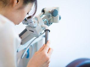 越谷駅前眼科 外来処置用顕微鏡