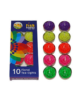 Fish Candles Tea Light Candles Floral Tea Light Mumbai Pune Goa Maharashtra Best Quality Good Superior Decorative Fancy Gifting