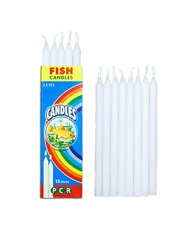 Fish Candles Household Emergency Candles 2.2-15-L Plain Long Candles Mumbai Pune Goa Maharashtra Best Quality Good Superior Decorative Fancy Gifting