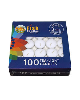 Fish Candles Tea Light Candles Tea Light 100 10 gms Mumbai Pune Goa Maharashtra Best Quality Good Superior Decorative Fancy Gifting