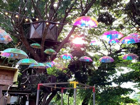 椿森コムナで農の市