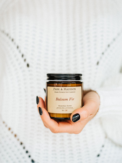 Balsam Fir Soy Candle