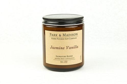 Jasmine Vanilla Soy Candle