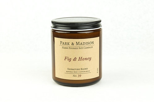 Fig & Honey Soy Candle