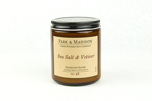 Sea Salt & Vetiver Soy Candle