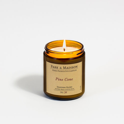 Pine Cone Soy Candle