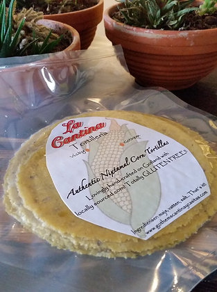 Authentic Soft Corn Tortillas