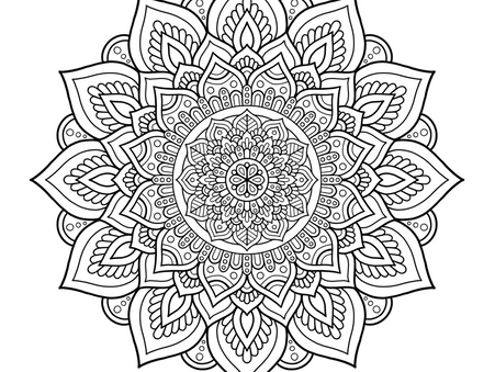 Healing with Mandalas Coloring Pages