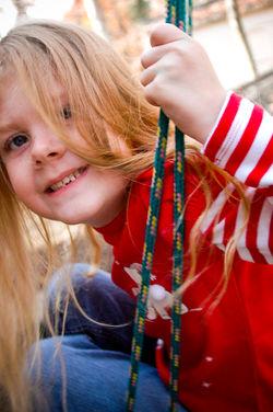 Close up Kid Portrait