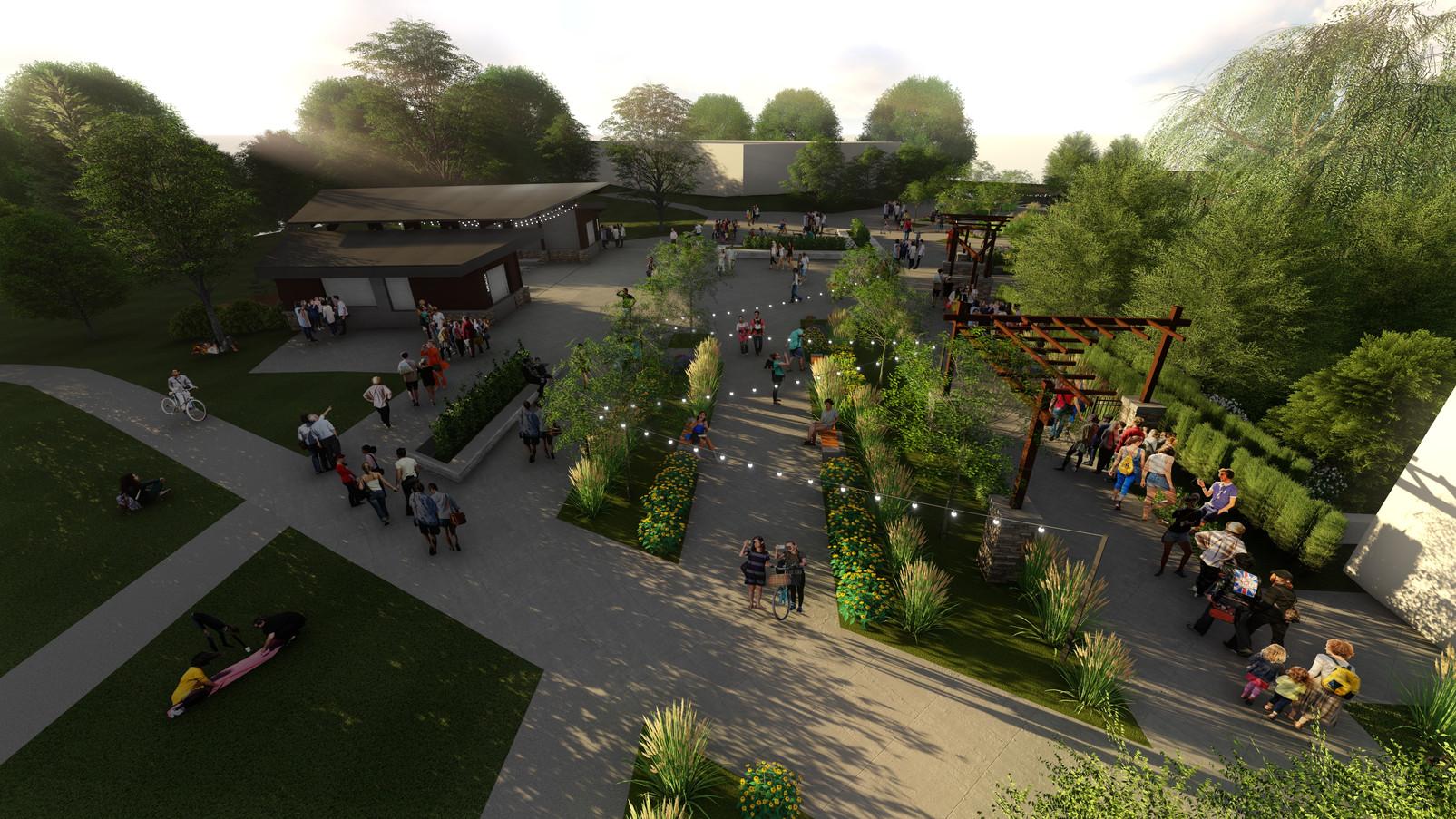 Layton Kenley Pavilion & Amphitheater re