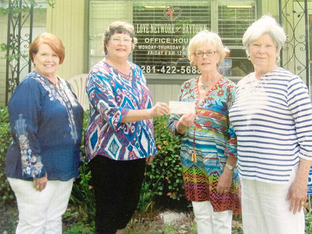 Thursday Forum of Baytown Supports Love Network of Baytown