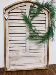 Ivory Shutter Window