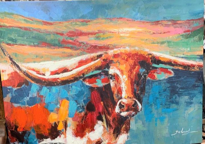 Longhorn Art