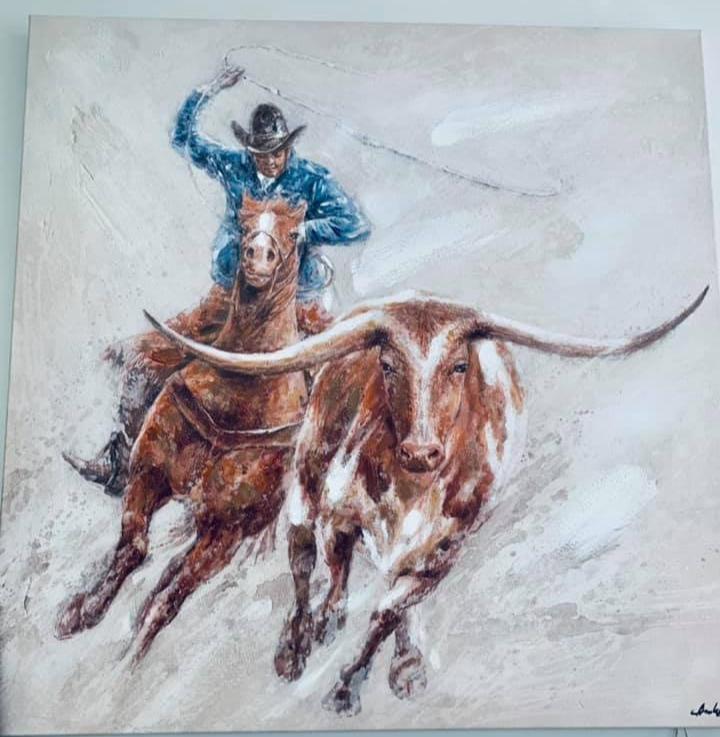 Rustic Cowboy Art