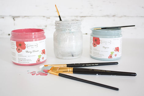 Country Chic Brushes & Paint