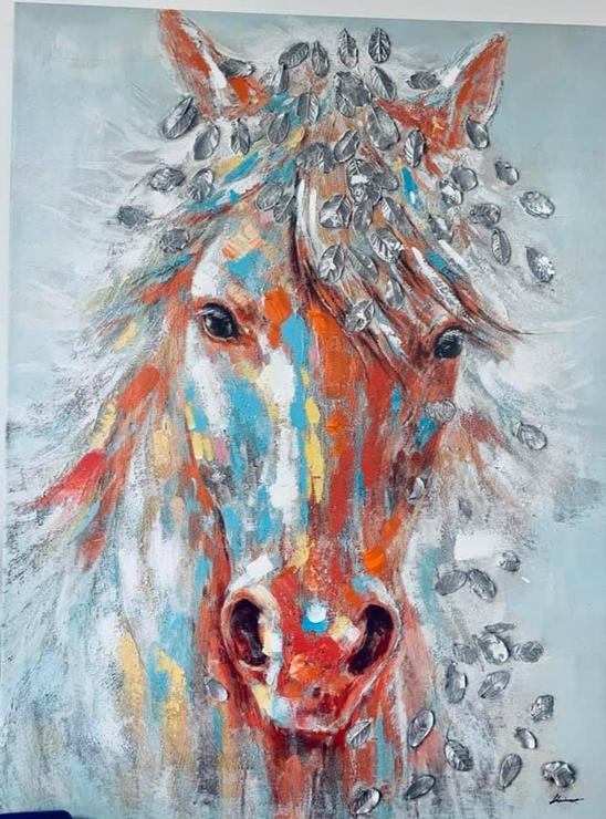 Silver Horse Art