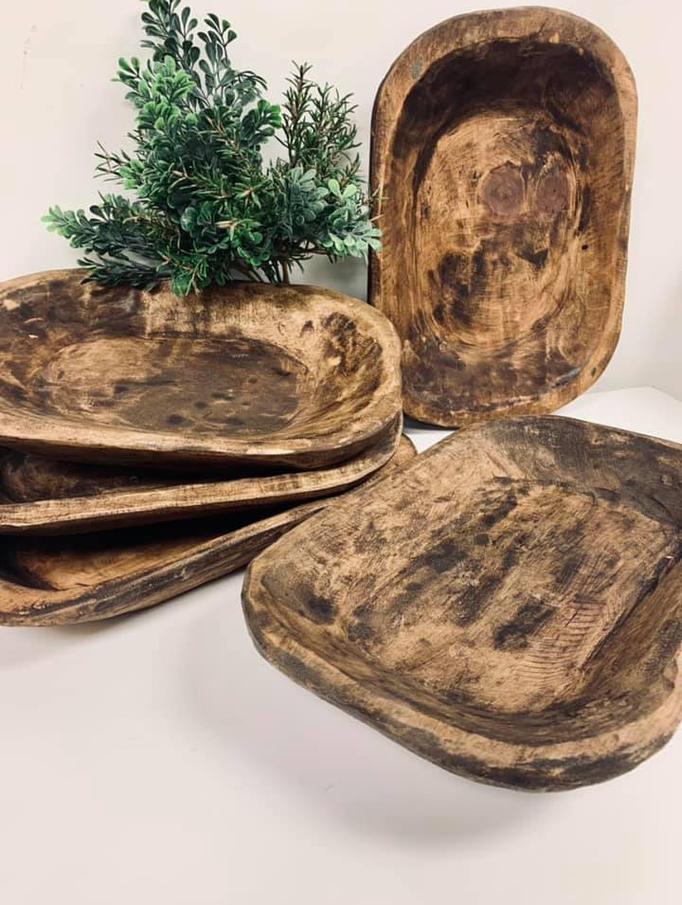 Rustic Dough Bowls Medium