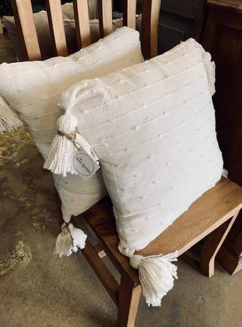 Ivory Throw Pillows