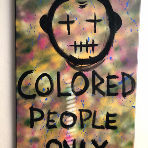 Colored people only