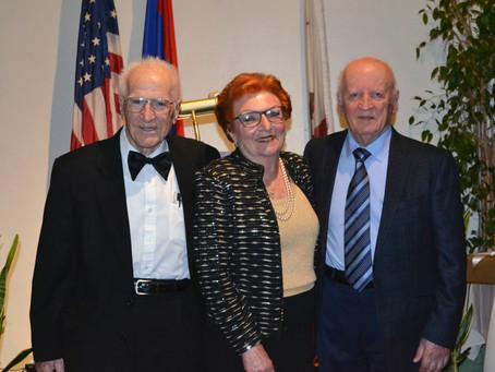 C. & E. Merdinian Armenian Evangelical School Honors Dr. Daniel & Juliette Abdulian