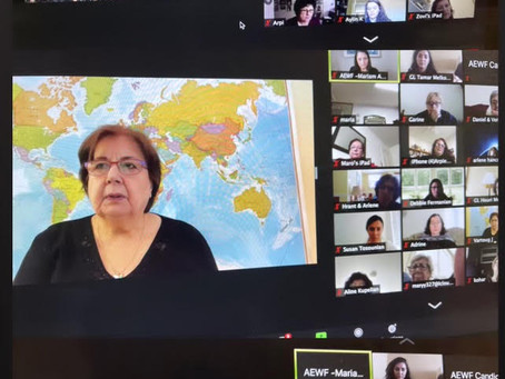 Armenian Evangelical Women's Fellowship First Virtual Conference - A Great Success!