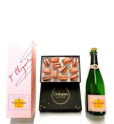 Champagne Macaron Box