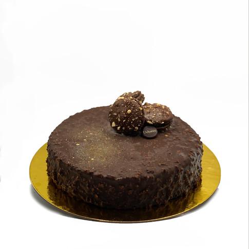 LARGE PRALINE HAZELNUT CAKE $40